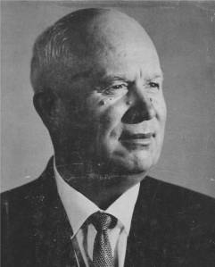 Khrushchev Remembers image on the book